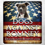 Design ~ Official Dogs Against Romney Pit Bull  Tee