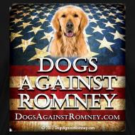 Design ~ Official Dogs Against Romney Golden Retriever Women's Tee