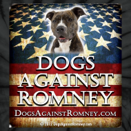 Design ~ Official Dogs Against Romney Pit Bull Tie Dye Tee