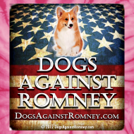 Design ~ Official Dogs Against Romney Corgie Tie Dye Tee