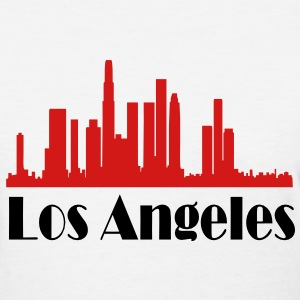 los angeles skyline - Women's T-Shirt