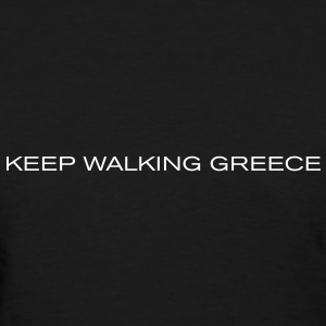 Keep Walking Greece vec Women's T-Shirts - Women's T-Shirt