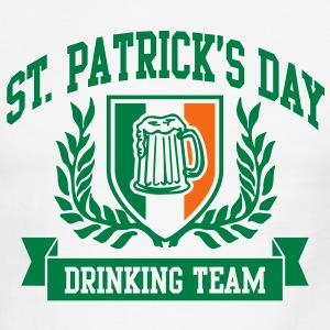 st. patrick's day drinking team T-Shirts - Men's Ringer T-Shirt