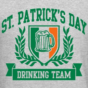 st. patrick's day drinking team Long Sleeve Shirts - Crewneck Sweatshirt