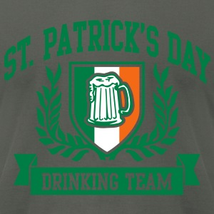 st. patrick's day drinking team T-Shirts - Men's T-Shirt by American Apparel