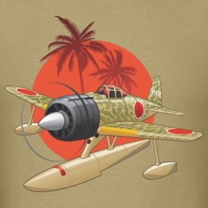 Japanese WWII Airplane - Men's T-Shirt