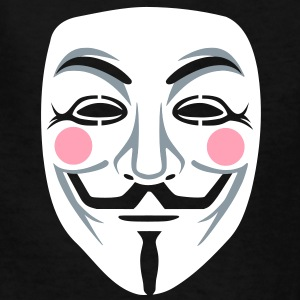 Anonymous/Guy Fawkes mask 3clr Kids' Shirts - Kids' T-Shirt
