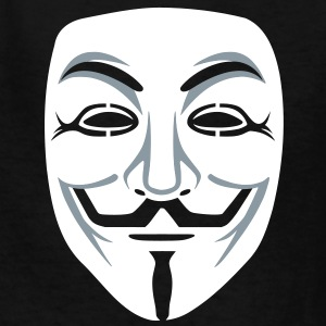 Anonymous/Guy Fawkes mask 2clr Kids' Shirts - Kids' T-Shirt