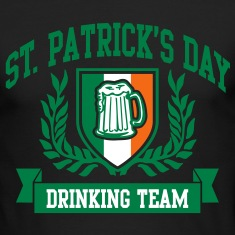 st. patrick's day drinking team Long Sleeve Shirts