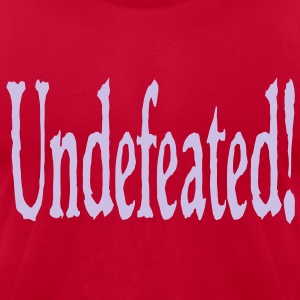 undefeated T-Shirts - Men's T-Shirt by American Apparel
