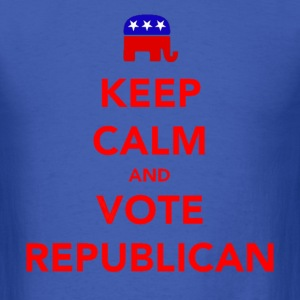 Keep Calm and Vote Republican 2012 Election T-Shirts - Men's T-Shirt