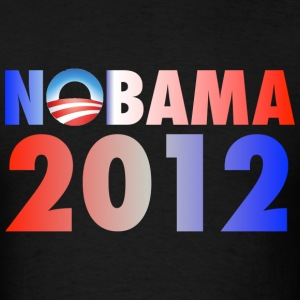 Nobama 2012 Designs T-Shirts - Men's T-Shirt