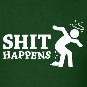 Shit Happens 2 T-Shirts - Men's T-Shirt