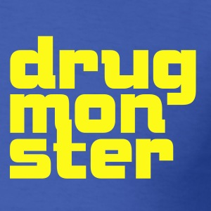 Drug Monster Font 1c T-Shirts - Men's T-Shirt