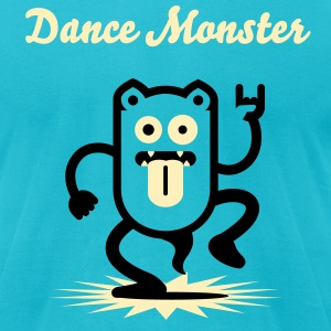 Dancemonster / Dance Monster No. 1_2c T-Shirts - Men's T-Shirt by American Apparel
