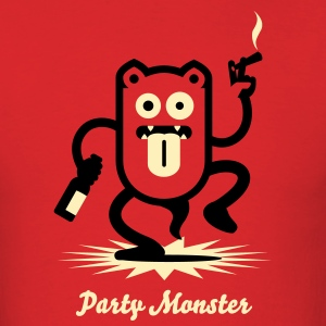 Partymonster / Party Monster  No.1_2c T-Shirts - Men's T-Shirt