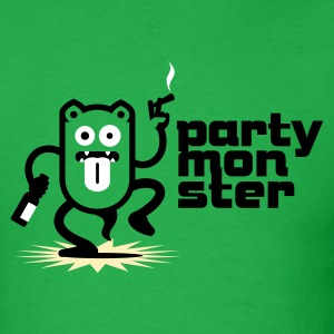 Partymonster / Party Monster No.1_3c T-Shirts - Men's T-Shirt