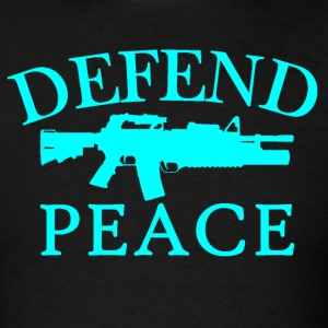 Defend Peace - Men's T-Shirt