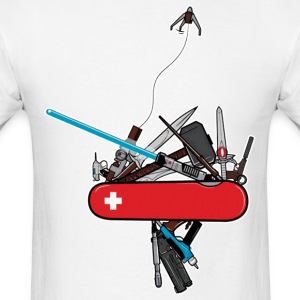 swiss army geek - Men's T-Shirt