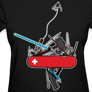 swiss army geek women - Women's T-Shirt