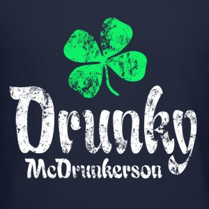 Drunky Green Long Sleeve Shirts - Crewneck Sweatshirt