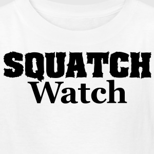 Squatch Watch (Black) - Kids' Shirt - Kids' T-Shirt