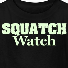 Squatch Watch (Glow in the Dark) - Kids' Shirt