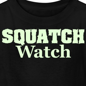 Squatch Watch (Glow in the Dark) - Kids' Shirt - Kids' T-Shirt