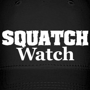 Squatch Watch (White) - Cap - Baseball Cap