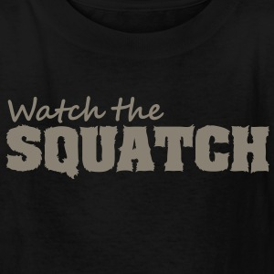 Watch The Squatch (Camo) - Kid's - Kids' T-Shirt