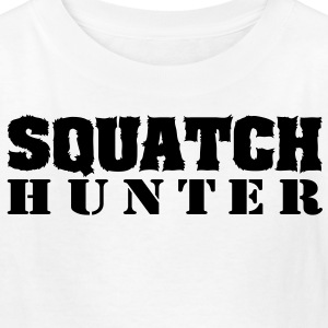 Squatch Hunter (Black) - Kid's - Kids' T-Shirt