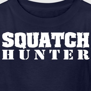 Squatch Hunter (White) - Kid's - Kids' T-Shirt