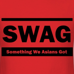 Swag (Something We Asians Got) T-Shirts - Men's T-Shirt