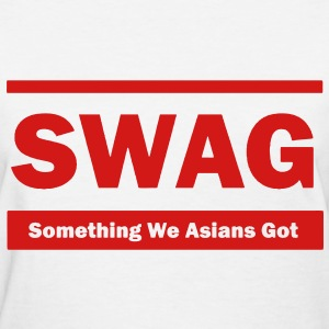 Swag (Something We Asians Got) Women's T-Shirts - Women's T-Shirt