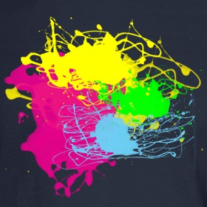 Paint Splatter - Graffiti Graphic Design - Multicolor  - Men's Long Sleeve T-Shirt