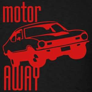 Motor Away - Men's T-Shirt