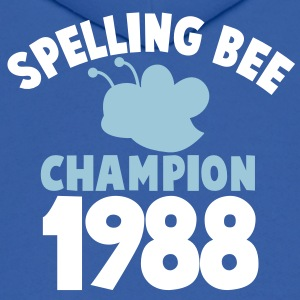 spelling bee champion 1988 super cute college shirt Hoodies - Men's Hoodie