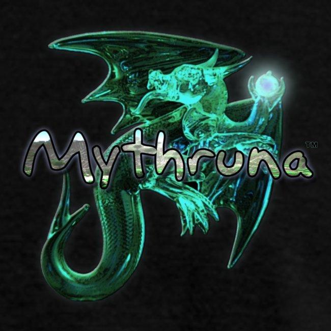 Mythruna World Back (blue text) Std Weight - Men's