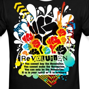 REVOLUTION - Men's Ringer T-Shirt