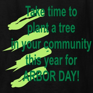 arbor_day_tree_time Kids' Shirts - Kids' T-Shirt