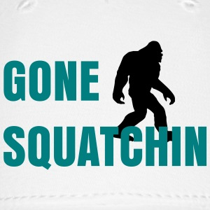 Gone Squatchin White - Baseball Cap