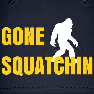 Gone Squatchin Navy - Baseball Cap