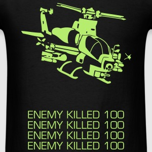 Battlefield Attack Helicopter - Men's T-Shirt