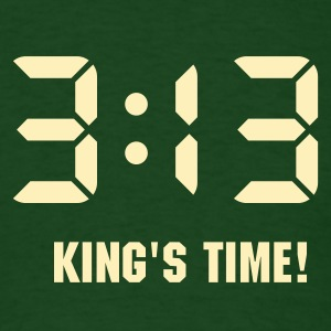 3:13 - King of Time (only) 1c T-Shirts - Men's T-Shirt