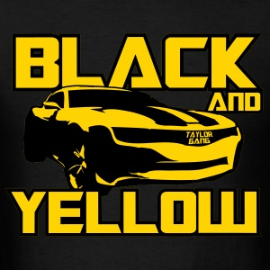 Black And Yellow Bumblebee T-Shirts - Men's T-Shirt