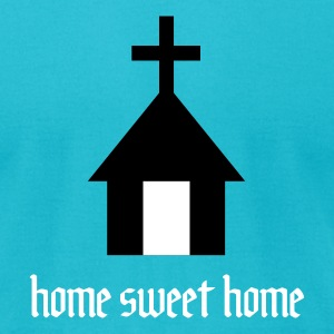 Home Sweet Home - Holy Home 2c T-Shirts - Men's T-Shirt by American Apparel