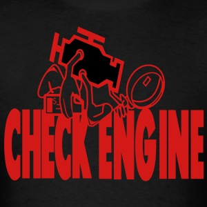 The Check Engine T-Shirts - Men's T-Shirt