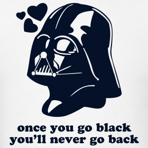 Darth Vader Star Wars Go Black