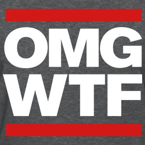 OMG WTF girl's Tshirt - Women's T-Shirt