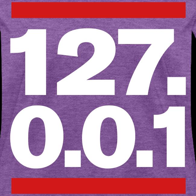127.0.0.1 girl's Tshirt